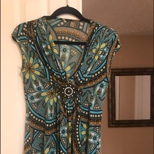 Sky Blouse -Size Small